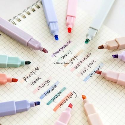 LLS Light Colour Kawaii Highlighter Pen