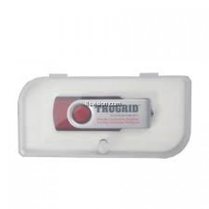 LLS Metal Swivel Rubber Coated USB Flash Drive